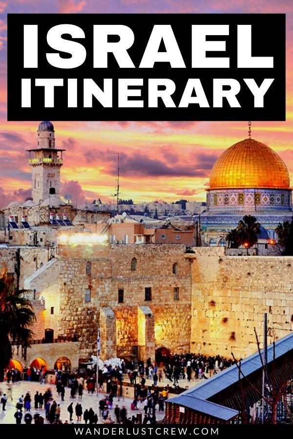 Este itinerario israelí te ayudará a explorar los sitios más increíbles de los países increíbles. Esto es sorprendente. #Israel #Jer Jerusalem