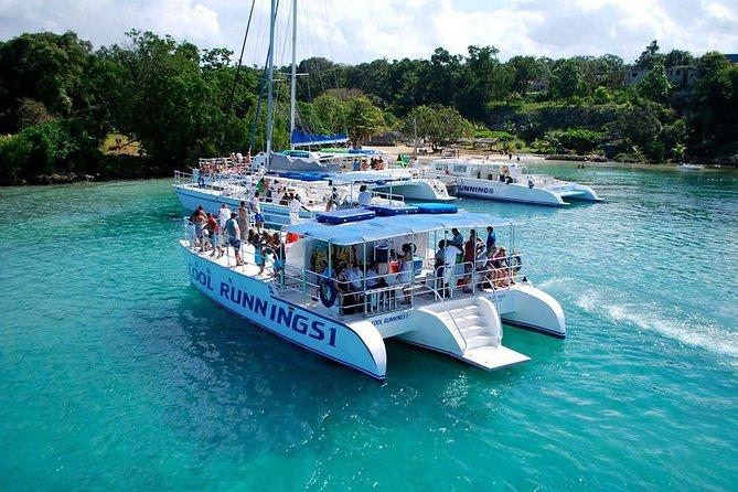 Jamaica Crucero de Parti de Dunn River Falls con esnórquel